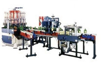 Multi-container filling machine / automatic / volumetric / liquid
