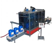 In-line filler and capper / can / for liquids