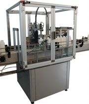 Linear screw capping machine / automatic / bottle