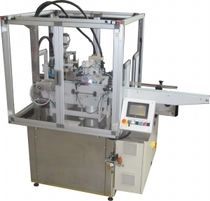 Screw screw capping machine / automatic / bottle