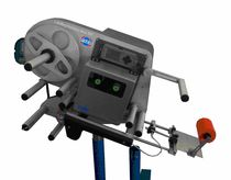 Thermal transfer label printer-applicator / one-color / for paper / automatic