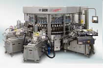 Automatic labeler / hot-melt glue / cold-glue / for self-adhesive labels
