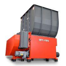 Single-shaft shredder / for wood / rugged