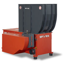 Single-shaft shredder / wood