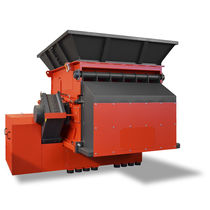 Single-shaft shredder / plastics