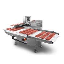 Ground meat production line