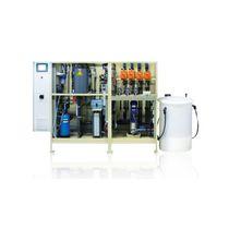 Membrane electrolysis unit