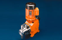 Chemical pump / electric / plunger / rugged