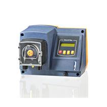 Chemical pump / stepper motor-driven / peristaltic / compact