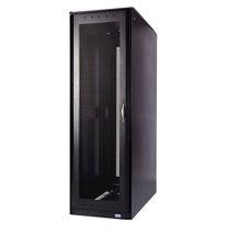 Floor-standing enclosure / rectangular / stainless steel / steel