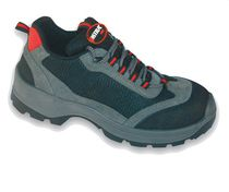 Construction safety shoe / wear-resistant / leather