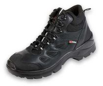 Construction safety shoe / wear-resistant / composite material / leather