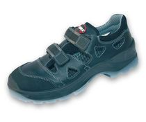 Anti-perforation safety shoe / textile / leather / open