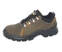 Construction safety shoe / anti-perforation / waterproof / leather