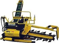 Chain trencher / wheel / rubber-tired / tractor