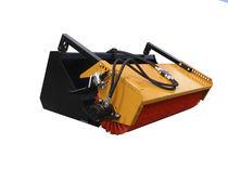Skid steer loader sweeper / hydraulic