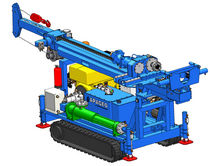 Multi-function drilling rig / crawler / down-the-hole / hydraulic