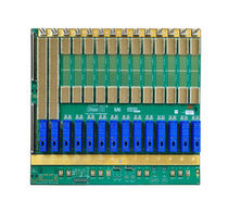 AdvancedTCA backplane / 14-slot