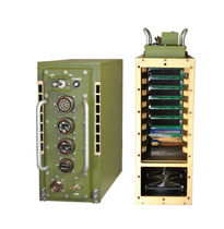 6 slots chassis / for harsh military environments / rugged