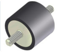 Cylindrical anti-vibration mount / type A