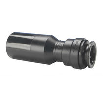 Reduction fitting / quick / straight / for compressed air