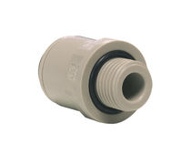 Screw-in fitting / quick / straight / hydraulic