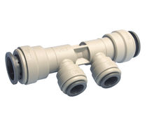 3-way manifold / plastic / for gas / for liquids
