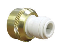 Push-in fitting / straight / hydraulic / pneumatic