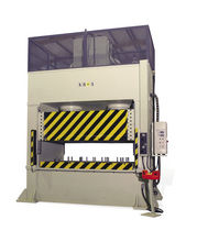 Hydraulic press / forming / frame / vertical