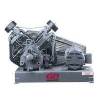 Air compressor / piston / lubricated / mobile