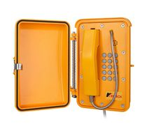 Emergency telephone / vandal-proof / weather-resistant