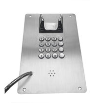 Auto dial telephone / analog / for underground mining / for marine applications