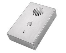 Vandal-proof telephone / IP55 / weatherproof / SIP
