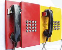 Standard telephone / intrinsically safe / weatherproof / vandal-proof