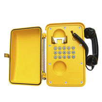 Intrinsically safe telephone / vandal-proof / IP66 / weatherproof