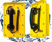 Intrinsically safe telephone / weatherproof / vandal-proof / IP66