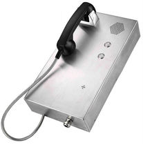 Auto dial telephone / IP65 / vandal-proof / stainless steel