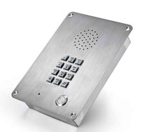 Intrinsically safe telephone / standard / vandal-proof / IP65