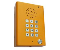 Emergency intercom / elevator / vandal-proof / rugged