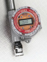 Gas detector / electrochemical / with digital display