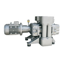 Roots rotary-lobe vacuum pump / lubricated / single-stage / industrial