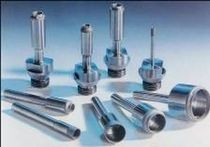 Solid drill bit / diamond / for glass