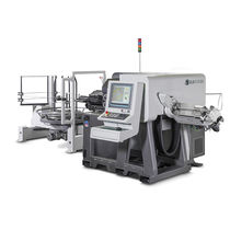 All-electric bending machine / wire / automatic / CNC