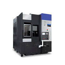 CNC lathe / vertical / 2-axis / high-performance