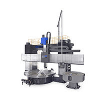 CNC lathe / vertical / 3-axis / for heavy-duty applications