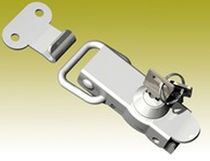 Key lock latch / lever-operated