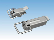 Zinc-coated steel draw latch / spring
