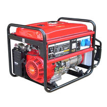 Gasoline generator set / single-phase / portable