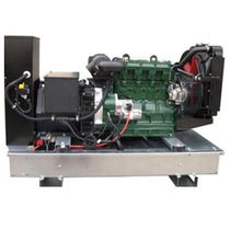 Diesel generator set / three-phase / mobile