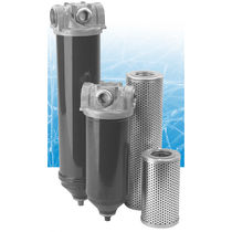 Hydraulic filter / return-line